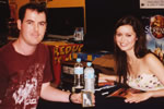Summer Glau and Myself - click for a closer view